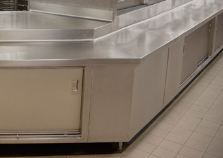 Stainless Steel Cabinets - Gautier, MS