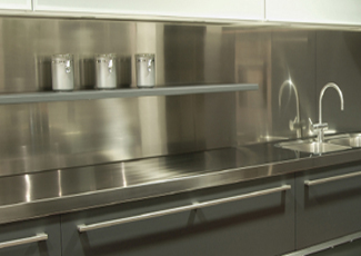 Stainless Steel Countertops - Biloxi, MS Custom Fabrication