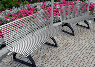Stainless Steel Bench D'Iberville, MS